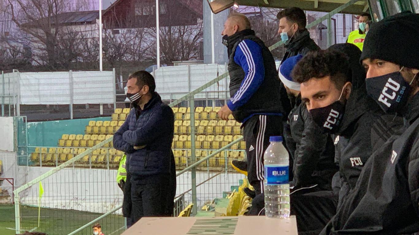 """""""FC U"""" Craiova și Ovidiu Stângă debutează cu o remiză în 2021, în deplasarea de la Concordia Chiajna. Meciul, unul dur, în care arbitrul a iertat de eliminare mai mulți jucători"""